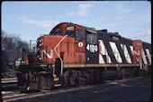 CN GP9RM 4100:2 (01.12.2006, Brockville, ON)