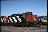 CN GP9RM 4132:2 (04.2004, Brockville, ON)