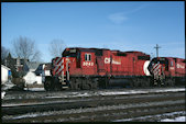 CP GP38-2 3042 (02.2006, Smiths Falls, ON)