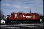 CP GP38-2 3043 (04.2006, Smiths Falls, ON)