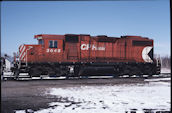 CP GP38-2 3045 (04.2004, Smiths Falls, ON)