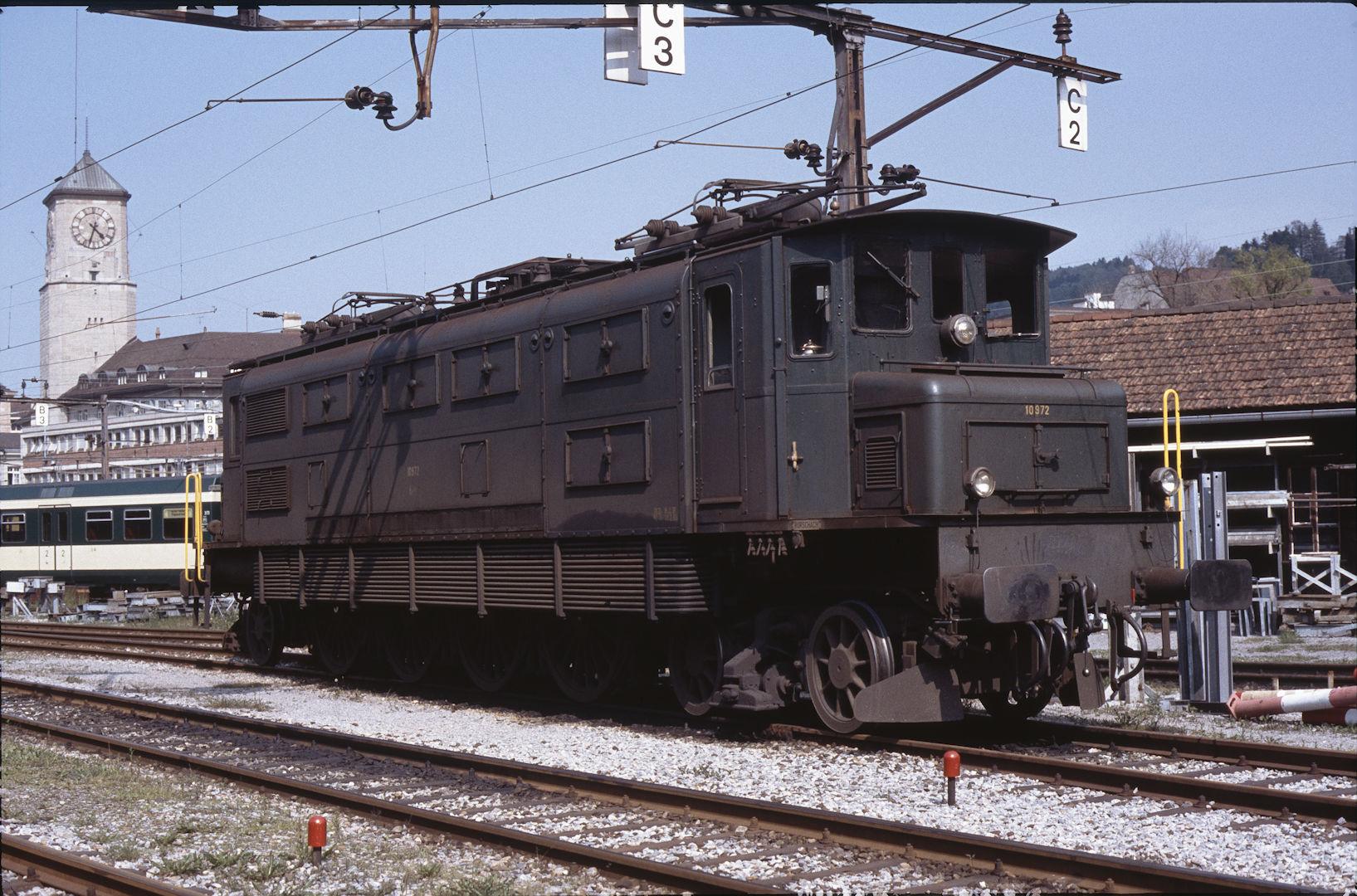 Schweizer bundesbahn baureihe ae4 7 for Depot st gallen