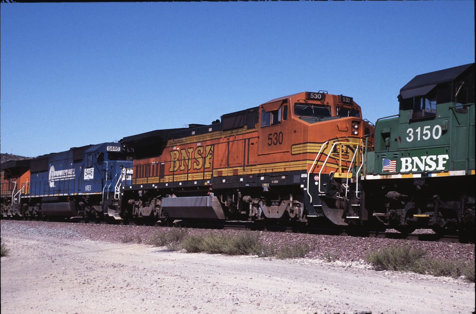 Burlington Northern & Santa Fe Railway Co. Baureihe B40-8W