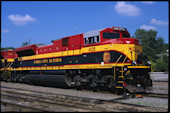 KCS SD70ACe 4126:2 (25.09.2008, Kansas City, KS)