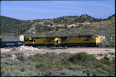 UP C44-9W 9705 (03.05.1997, Cajon Summit, CA)